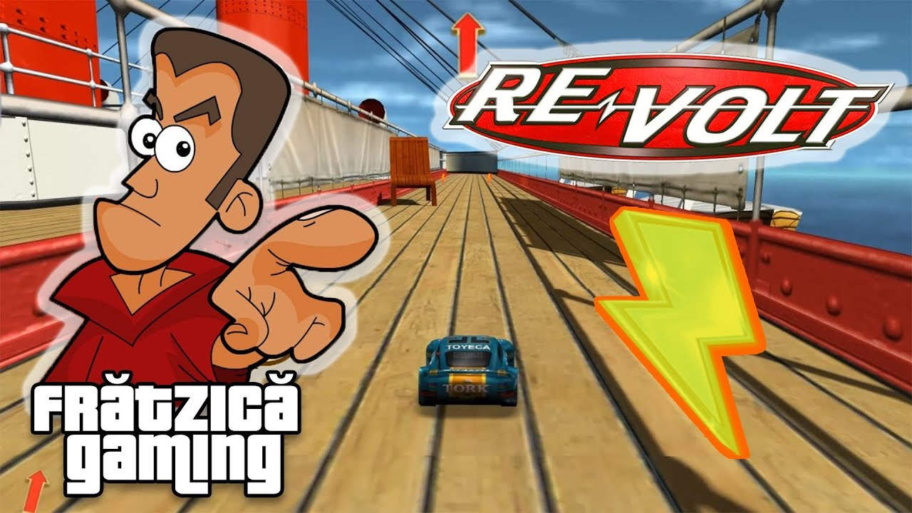 Re-Volt - Ep.7 - C8ilu Face Show - Fratzica Gaming