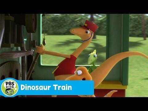 DINOSAUR TRAIN | The Finish Line | PBS KIDS