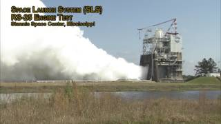 NASA's Stennis Space Center Conducts RS-25 Engine Test