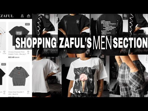 I SHOPPED IN THE ZAFUL MENS SECTION ? TRY-ON HAUL || ARIANA.AVA