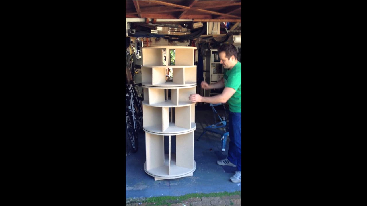 Revolving Shoe Organizer Part - 17: Rotating Shoe Rack Demo