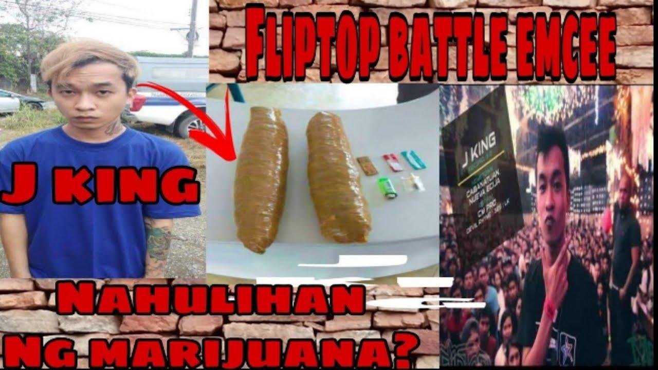 Download FLIPTOP BATTLE EMCEE J KING ARESTADO NAHULIHAN NG MARIJUANA!