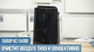 Очиститель воздуха Sharp KC D41RB: обзор, отзывы