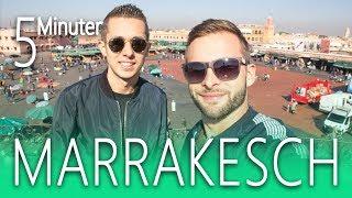 Marrakesch in 5 Minuten 🌴🐫 Marokko Tipps