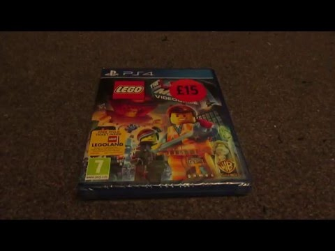 The Lego Movie Videogame PS4 (UK) Unboxing