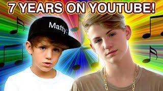 7 YEARS ON YOUTUBE!!! MattyBRaps Q&A