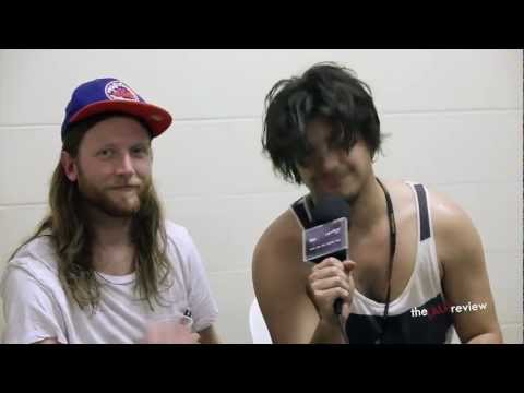 Delta Spirit (California) - Interview at Big Day Out 2013