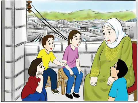 درس دمية حسنة الصف الرابع الاساسي حسب المنهاج الجديد بصوت الطالبة رحيق صعابنة