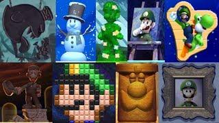 New Super Luigi U - All Hidden Luigi Locations