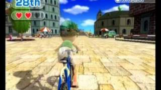 Repeat youtube video Wii Sports Resort - Cycling 3 Stage Race A 6:34.83