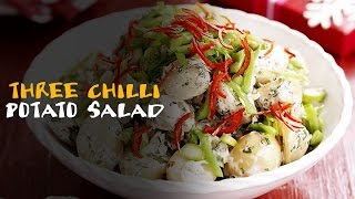 Three Chilli Potato Salad Receipe - Master Chef Sanjeev Kapoor