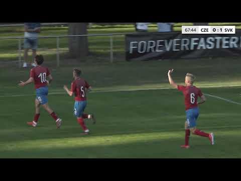 U18 | Sestřih utkání Česko - Slovensko 1:1