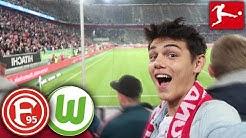 Stadion Vlog🔥 Fortuna Düsseldorf - VFL Wolfsburg [OMG]