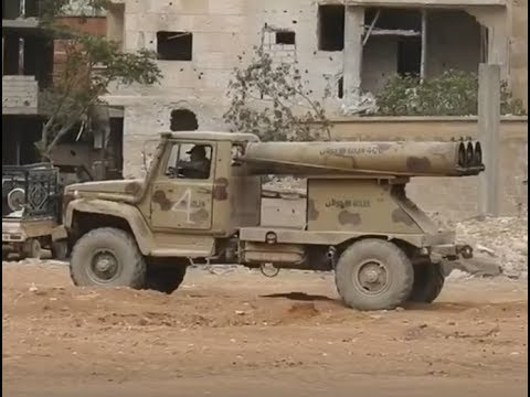 Battles for Syria   May 20th 2018   ISIS surrendering South Damascus, Syria