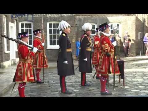 Johan de Witt betaalt  tol  aan torenwachter Londen