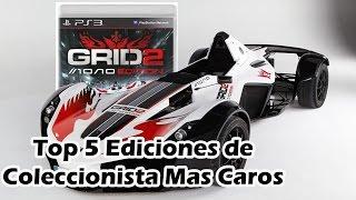 Top 5 Ediciones de Coleccionista Mas Caros de los Videojuegos