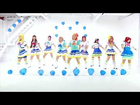 Love Live! Sunshine! Aozora Jumping Dace Cover Mirror