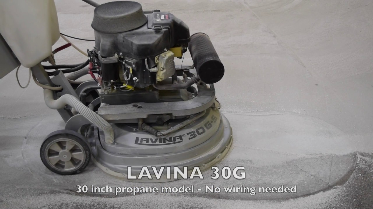 Lavina Floor Grinders And Polishers Industrial Floor Grinding And Polishing Job Youtube