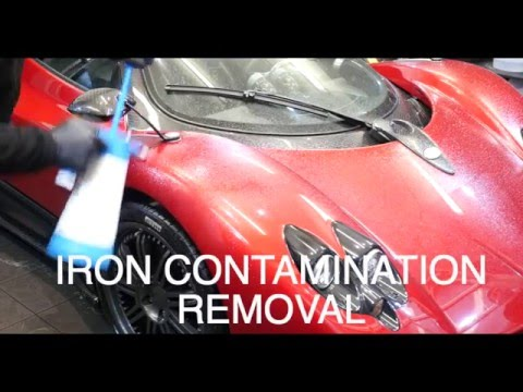 Pagani Zonda F Detail and Paint Protection Film - Topaz Detailing London