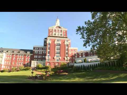 Hotels With A Past The Omni Homestead Resort Youtube