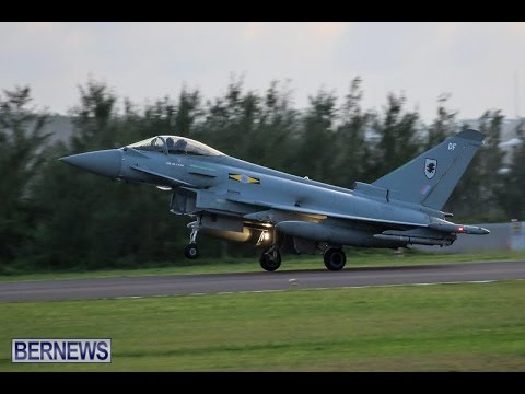 Royal Air Force Planes Arrive In Bermuda, December 1 2015