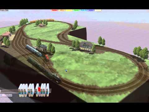 EEP-X Tutorial 76 – A Real Model Railway Plan Simulated in EEP