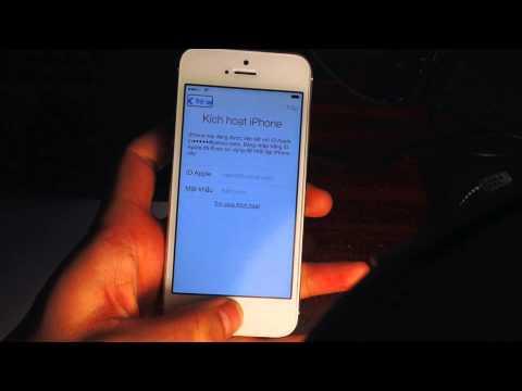 Vượt active lock vào màn hình chính iphone5s