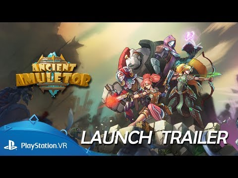 Ancient Amuletor   Launch Trailer   PlayStation VR