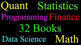Quant Reading List 2019 | Math, Stats, CS, Data Science, Finance, Soft Skills, Economics, Business