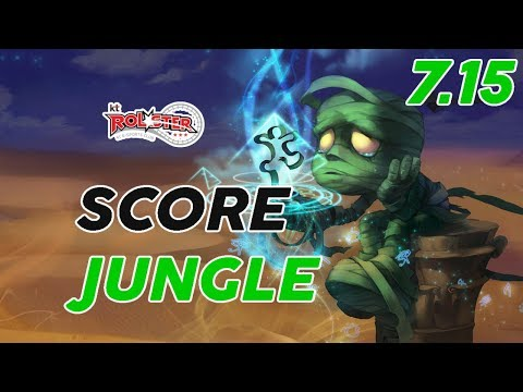 KT Rolster Score Amumu Jungle Patch 7.15