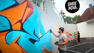 cleanest GRAFFITI with FAMOUS 🇩🇪 WRITERS !! Schichtweise Jam 2019 report