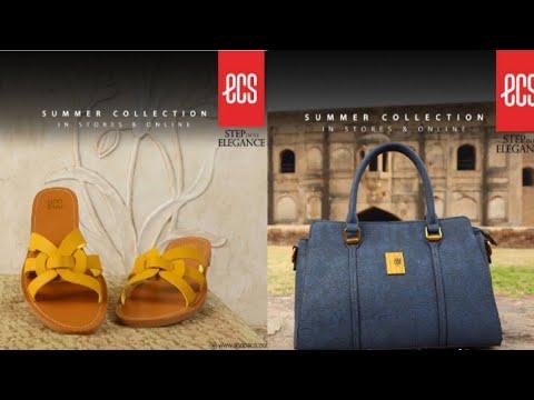 ECS shoes summer collection |ECS bags