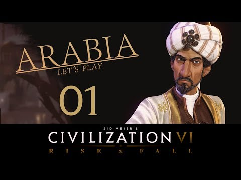 Deity Arabia | Civilization 6 Let's Play | Episode 1 [My Luckiest Start Ever!]
