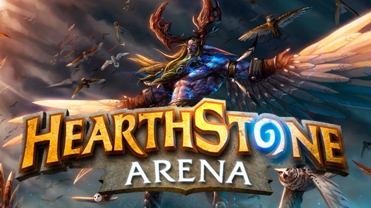 hearthstone арена