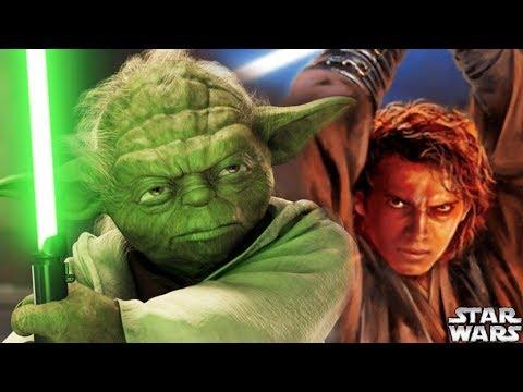 Why Yoda DISLIKED Anakin's Lightsaber - Star Wars Explained