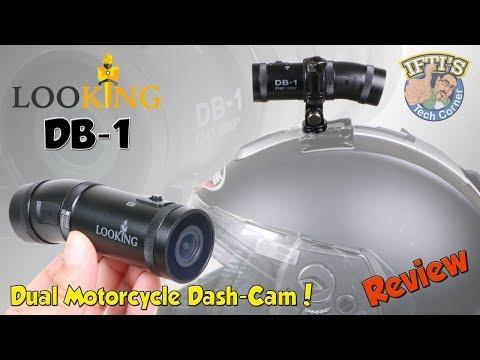 LooKING DB-1 : Dual Camera Motorcycle Dash Cam! - REVIEW