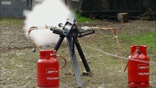 Steam Cannon   10x Energy of AK47   Brit Lab