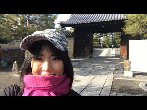 Walk in Daitokuji Temple & Kyoto Marathon 2018 京都大徳寺, 京都マラソン 😍 with Yoko from Kyoto, Japan