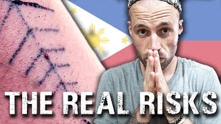 HIV from Tattooing? | Is a Traditional Tattoo safe? Philippines travel vlog