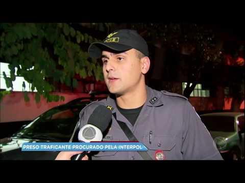 Traficante procurado pela Interpol há 11 anos é preso