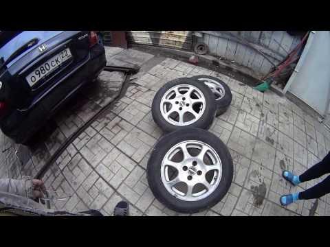 Замена зимней резины на летнюю. Это просто))). Replace summer to winter tires. It\'s just)
