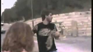 palestinian mini jihadis hit by driver מחבל פלסטיני קטן נדרס