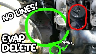 How to Delete CHARCOAL CANISTER [NO LINES]! (on miata)