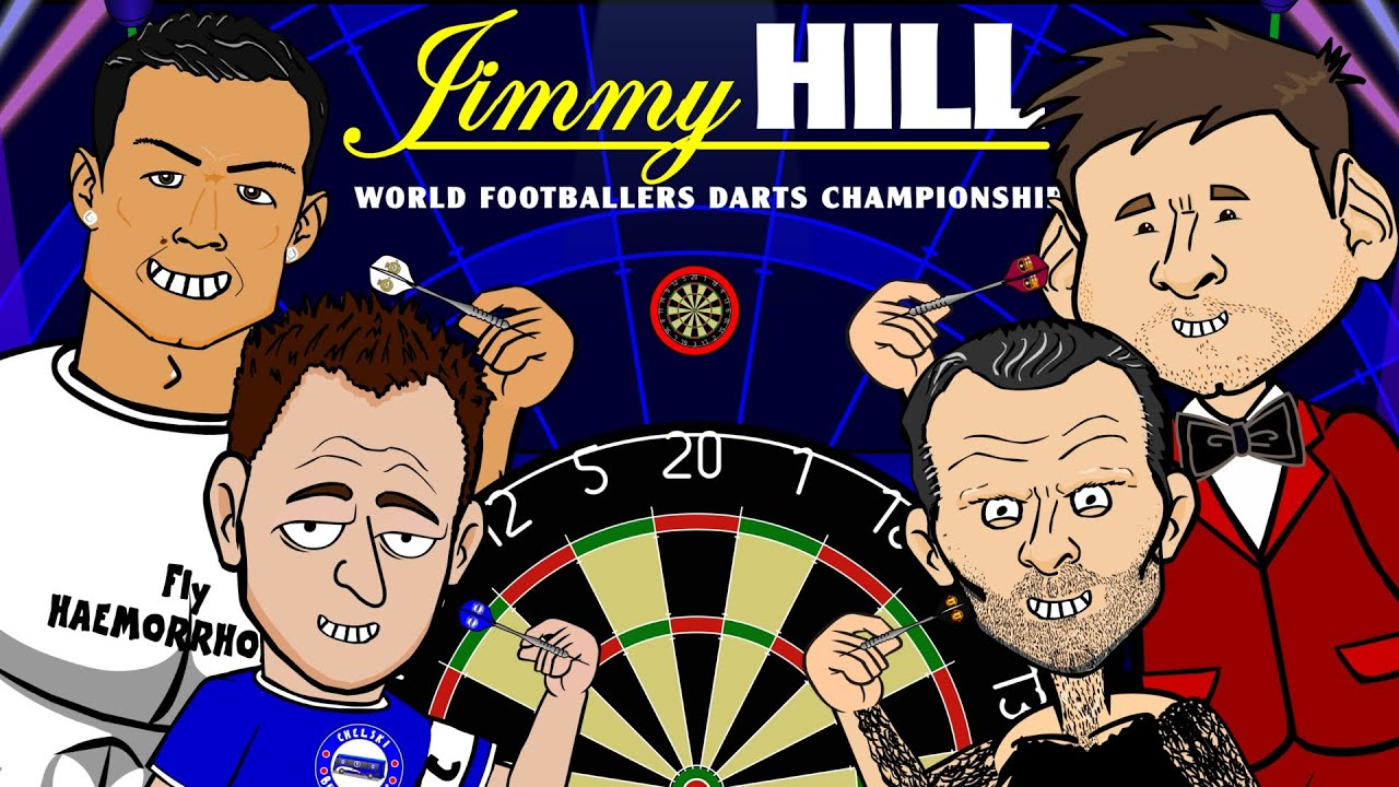 Footballers Do Darts Pdc 2015 Parody By 442oons Ronaldo