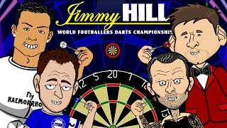 FOOTBALLERS DO DARTS! (PDC 2015 parody by 442oons) Ronaldo Messi Giggs Terry and more!