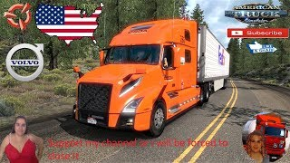 American Truck Simulator (1.37 Beta)   Volvo VNL 2018 fix v2.24 by Galimin Great America v1.3 by Voith Wyoming Road to Cheyenne Trailer Jazzycat FMOD ON and Open Windows Project Next-Gen Graphics USA + DLC's & Mods https://forum.scssoft.com/viewtopic.php?