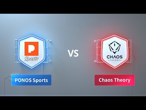 PONOS Sports vs Chaos Theory  - 2018 CRL Asia Week 4 Day 1
