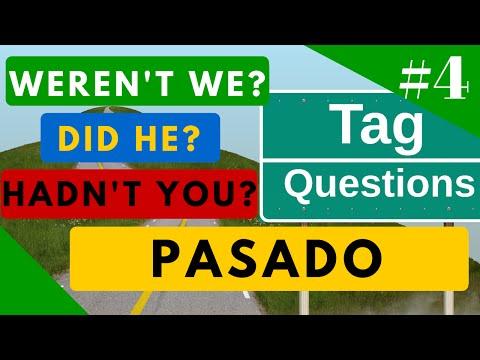 Tag Questions 15 ejemplos en Pasado todos los tiempos del inglés + Ejercicio [Video 4]