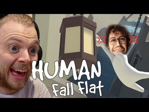 Human Fall Flat! Quest To Annoy Stampy!