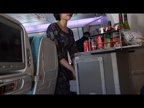 Singapore Airlines 777-300er Sydney to Singapore